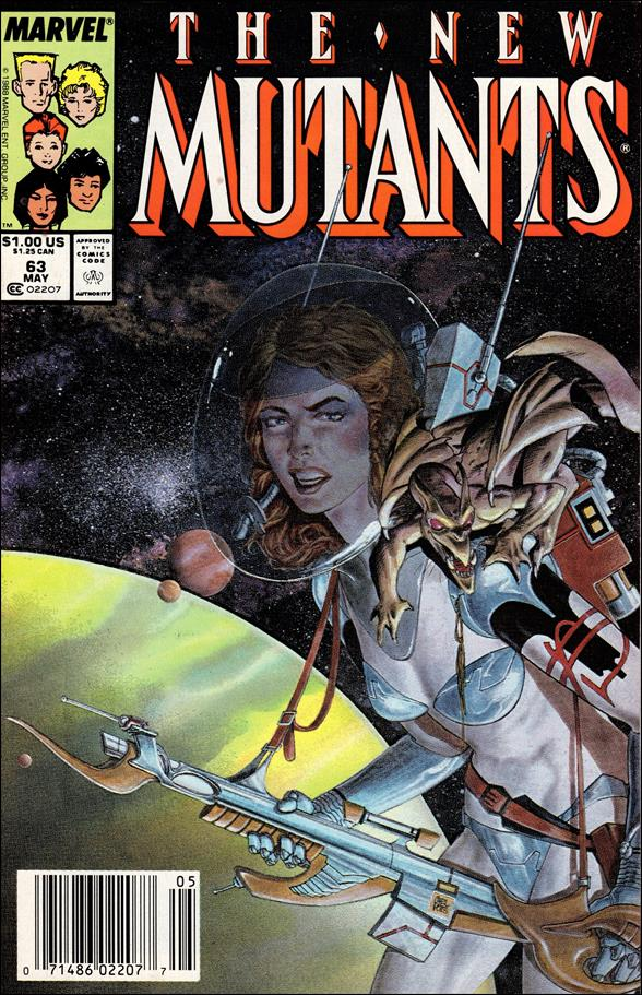 New Mutants (1983) 63-A by Marvel