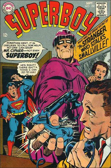 Superboy (1949) 150-A by DC