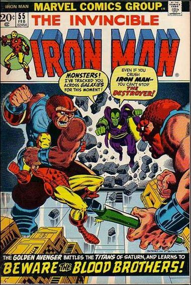 Iron Man (1968) 55-A by Marvel