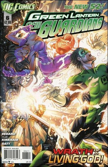 Green Lantern: New Guardians  6-A by DC