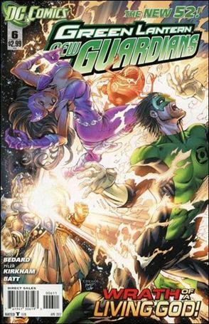 Green Lantern: New Guardians  6-A