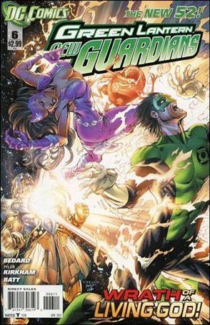 Green Lantern: New Guardians  6-A