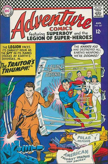 Adventure Comics (1938) 347-A by DC