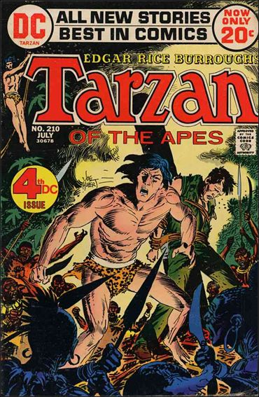 Tarzan (1972) 210-A by DC