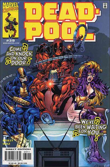 Deadpool (1997) 39-A by Marvel