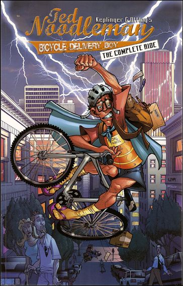 Ted Noodleman: Bicycle Delivery Boy 1-A by Alias