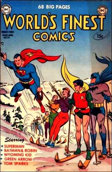 World's Finest Comics 57-A by DC
