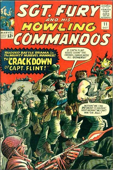 Sgt. Fury and His Howling Commandos 11-A by Marvel