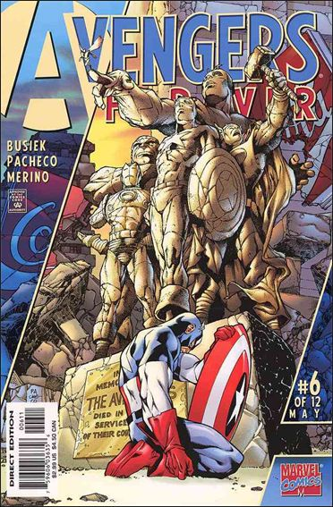 Avengers: Forever 6-A by Marvel