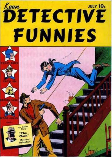 Keen Detective Funnies (1938) 8-A by Centaur Publications Inc.