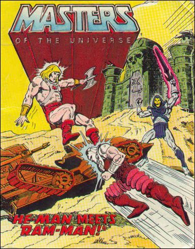 Masters of the Universe (1981) 2.1-A by Mattel