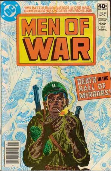 Men of War (1977) 22-A by DC
