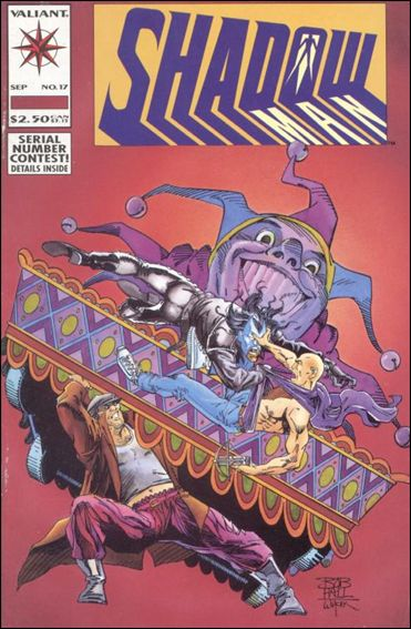 Shadowman (1992) 17-A by Valiant
