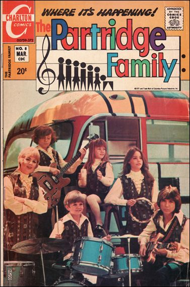 Partridge Family 8-A by Charlton