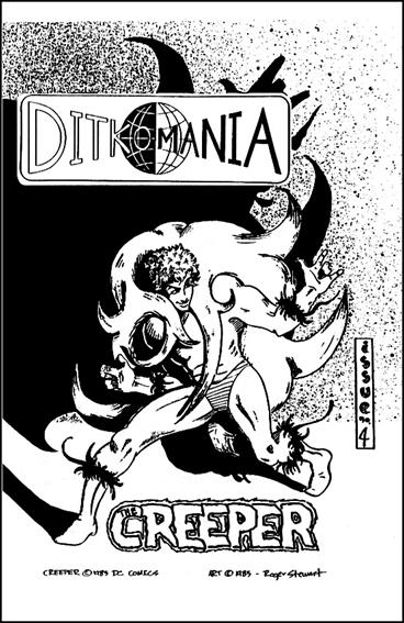 Ditkomania 4-A by Bill Hall & Rob Imes