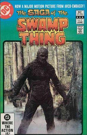 Saga of the Swamp Thing 2-A