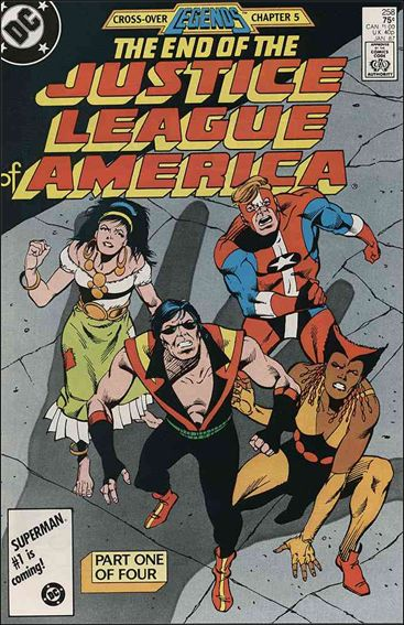 Justice League of America (1960) 258-A by DC