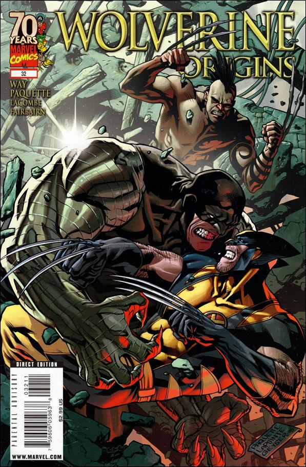 Wolverine: Origins 32-A by Marvel