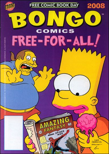 Bongo Comics Free-For-All! 2008-A by Bongo