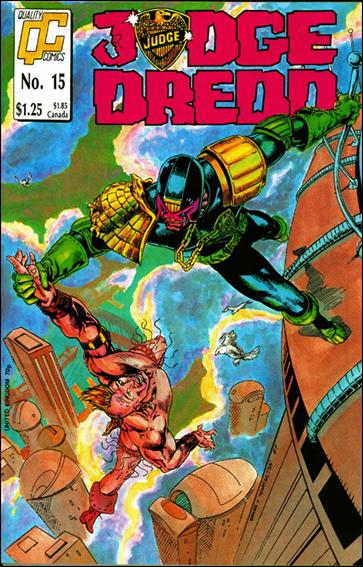 Judge Dredd (1987) (UK) 15-A by Quality Comics