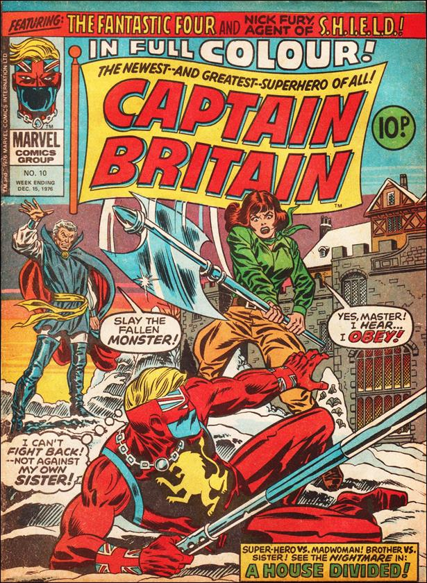 Captain Britain (UK) (1976) 10-A by Marvel UK