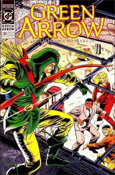 Green Arrow (1988) 31-A by DC