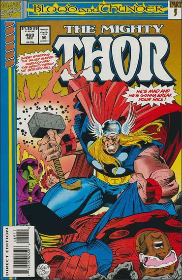 Thor (1966) 469-A by Marvel