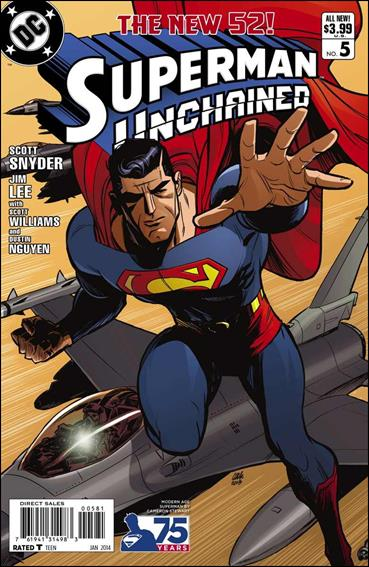 Superman Unchained 5-G by DC