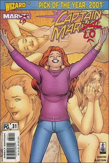 Captain Marvel (1999) 31-A by Marvel