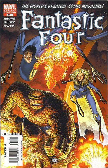 Fantastic Four (1961) 551-B by Marvel