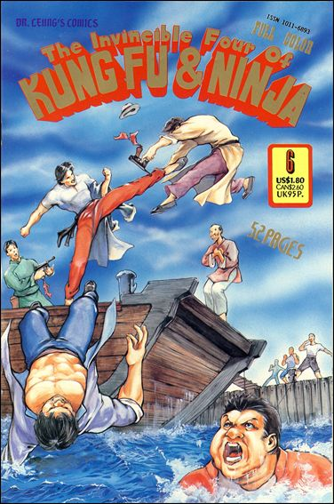 Invincible Four of Kung Fu & Ninja 6-A by Leung's Publications