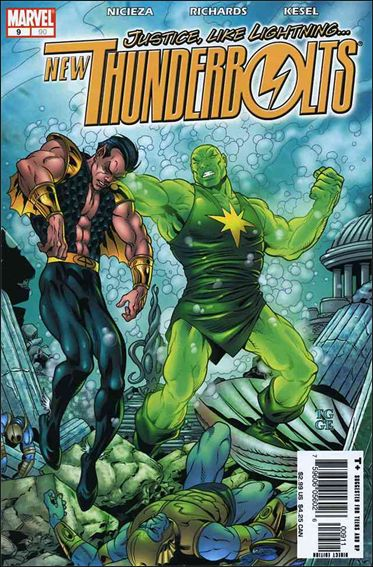New Thunderbolts 9-A by Marvel
