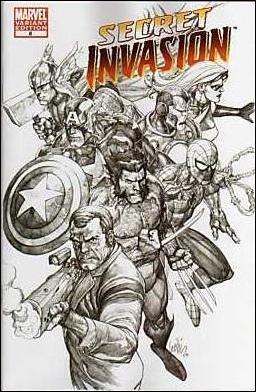 Secret Invasion 8-C by Marvel