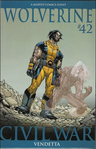 Wolverine (2003)  42-B by Marvel