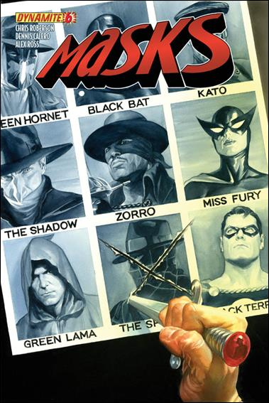 Masks 6-A by Dynamite Entertainment
