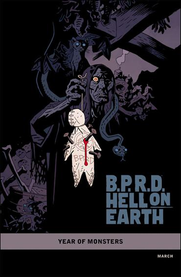 B.P.R.D. Hell on Earth: The Pickens County Horror 1-B by Dark Horse