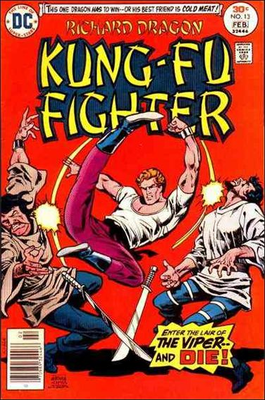 Richard Dragon, Kung-Fu Fighter 13-A by DC