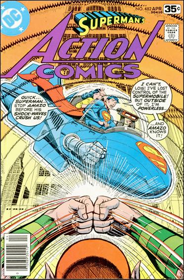 Action Comics (1938) 482-A by DC