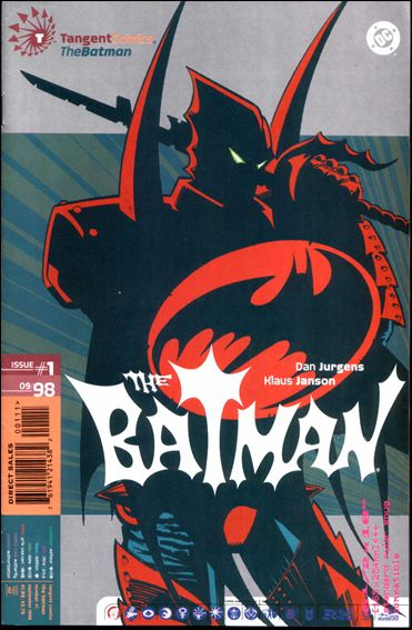 Tangent Comics/The Batman 1-A by Tangent Comics