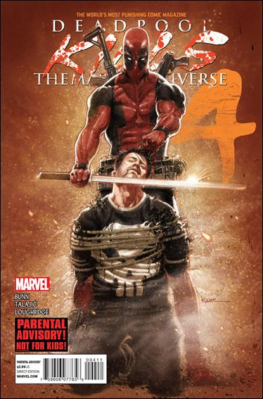 Deadpool Kills the Marvel Universe 4-A by Marvel