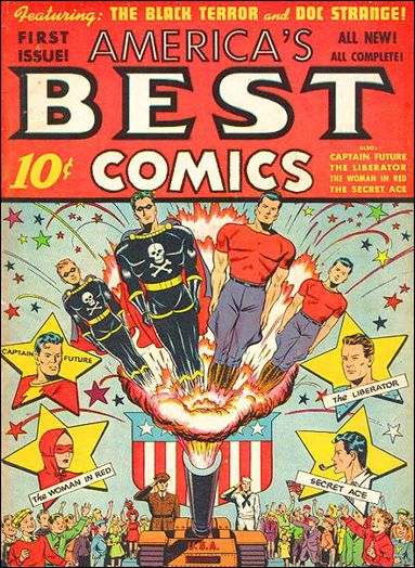 America's Best Comics 1-A by Standard