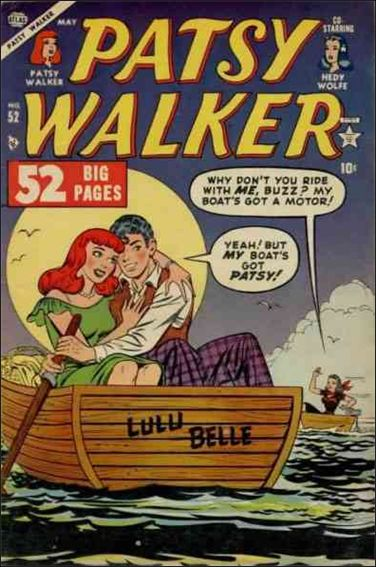 Patsy Walker 52-A by Marvel