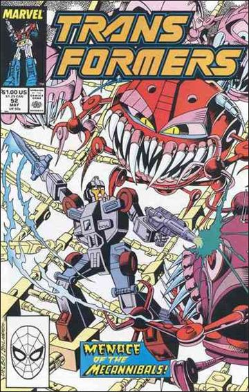 Transformers (1984) 52-A by Marvel