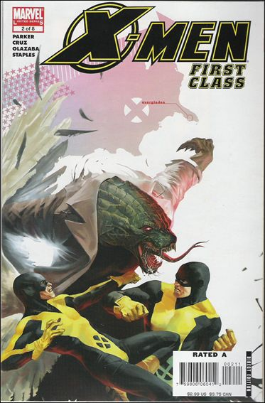 X-Men: First Class (2006) 2-A by Marvel