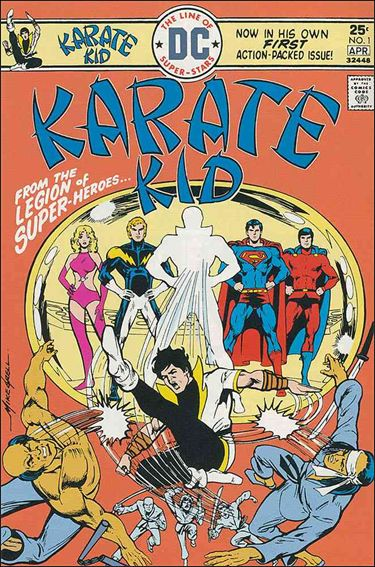 Karate Kid 1-A by DC