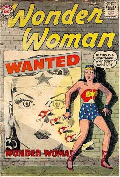 Wonder Woman (1942) 108-A by DC