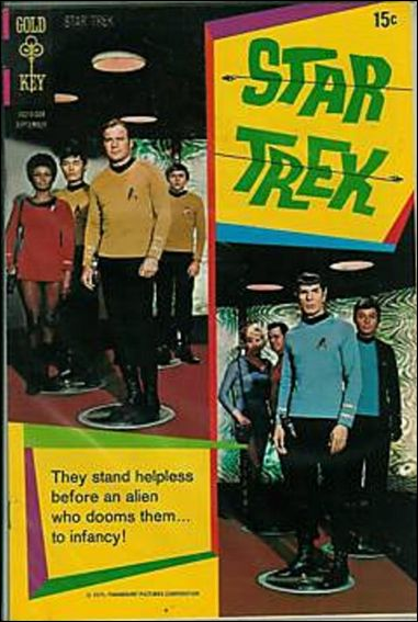 Star Trek (1967) 8-A by Gold Key