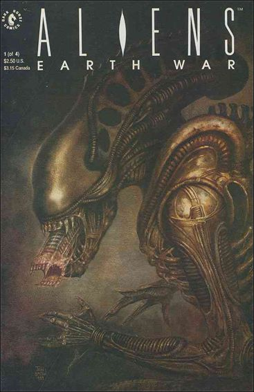 Aliens: Earth War 1-A by Dark Horse