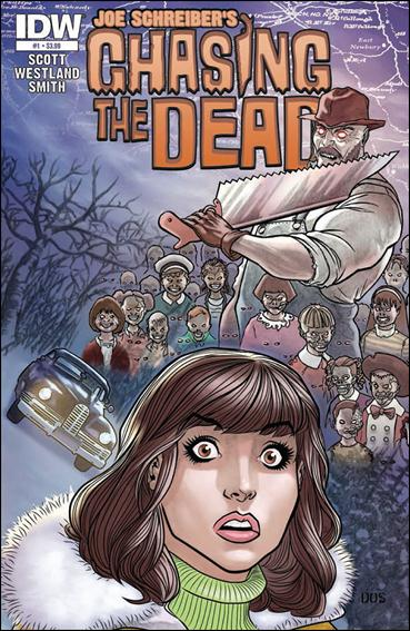 Chasing the Dead 1-A by IDW
