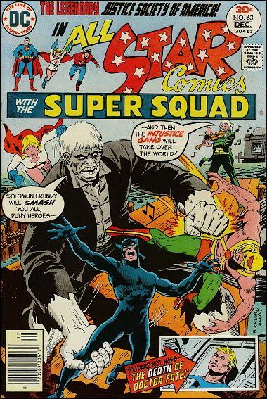 All Star Comics (1940) 63-A by DC